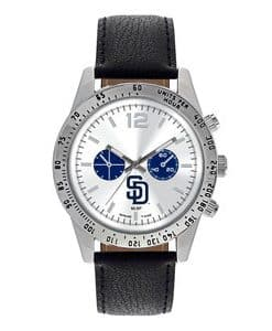 San Diego Padres Mens Quartz Analog Letterman Watch