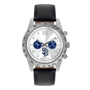 San Diego Padres Mens Quartz Analog Letterman Watch