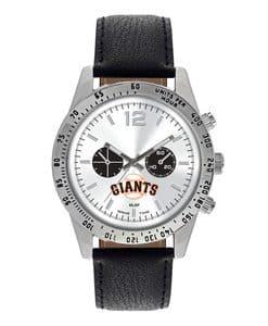 San Francisco Giants Mens Quartz Analog Letterman Watch