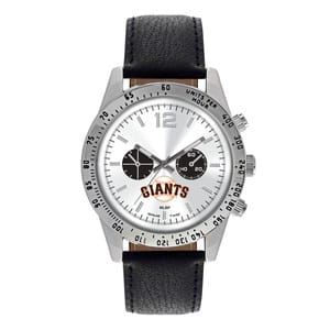 San Francisco Giants Mens Quartz Analog Letterman Watch