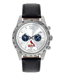 St. Louis Cardinals Mens Quartz Analog Letterman Watch