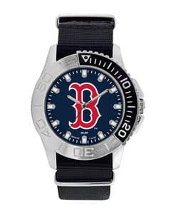 Boston Red Sox Mens Quartz Analog Starter Watch