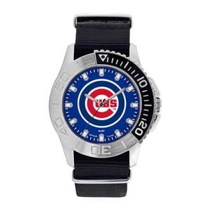 Chicago Cubs Mens Quartz Analog Starter Watch