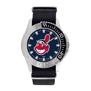 Cleveland Indians Mens Quartz Analog Starter Watch