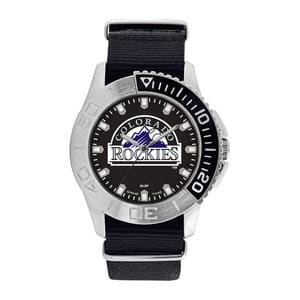 Colorado Rockies Mens Quartz Analog Starter Watch