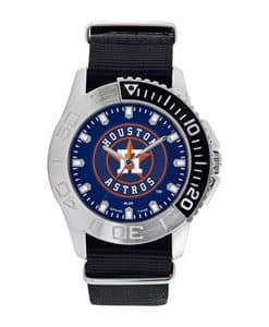 Houston Astros Mens Quartz Analog Starter Watch