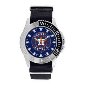 Houston Astros Mens Quartz Analog Starter Watch