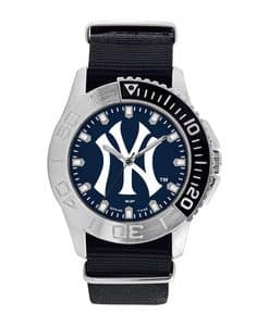 New York Yankees Mens Quartz Analog Starter Watch