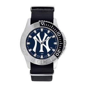 New York Yankees Mens Quartz Analog Starter Watch
