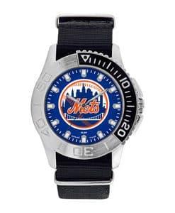 New York Mets Mens Quartz Analog Starter Watch
