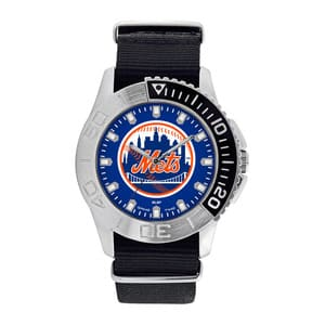 New York Mets Mens Quartz Analog Starter Watch