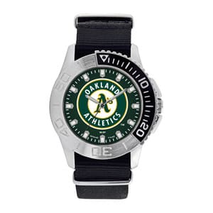 Oakland Athletics Mens Quartz Analog Starter Watch