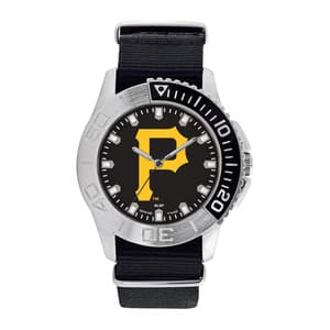 Pittsburgh Pirates Mens Quartz Analog Starter Watch
