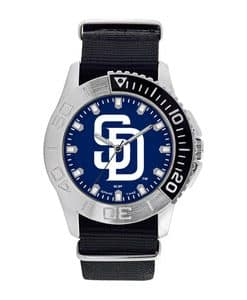 San Diego Padres Mens Quartz Analog Starter Watch