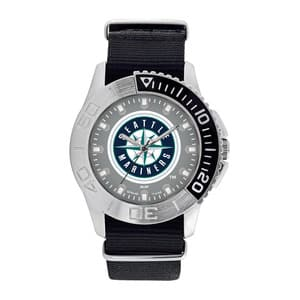 Seattle Mariners Mens Quartz Analog Starter Watch