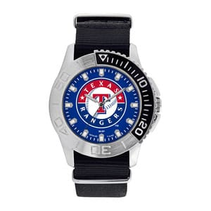 Texas Rangers Mens Quartz Analog Starter Watch
