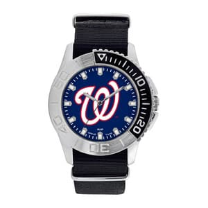 Washington Nationals Mens Quartz Analog Starter Watch