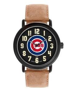 Chicago Cubs Mens Quartz Analog Throwback Watch