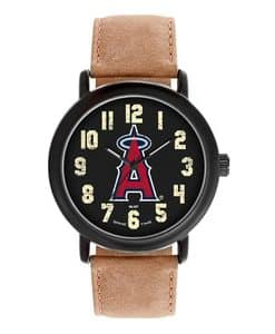 Los Angeles Angels Mens Quartz Analog Throwback Watch
