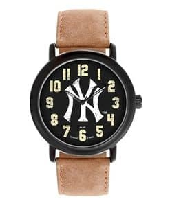 New York Yankees Mens Quartz Analog Throwback Watch