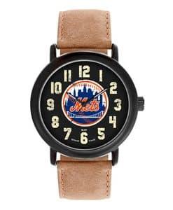 New York Mets Mens Quartz Analog Throwback Watch