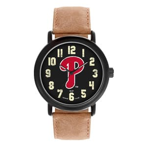 Philadelphia Phillies Mens Quartz Analog Throwback Watch