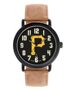 Pittsburgh Pirates Mens Quartz Analog Throwback Watch