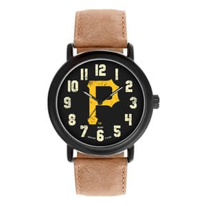 Pittsburgh Pirates Mens Quartz Analog Throwback Watch