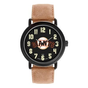 San Francisco Giants Mens Quartz Analog Throwback Watch