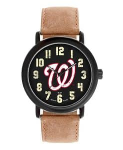 Washington Nationals Mens Quartz Analog Throwback Watch