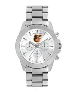 Baltimore Orioles Ladies Quartz Analog Silver Knockout Watch
