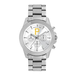 Pittsburgh Pirates Ladies Quartz Analog Silver Knockout Watch