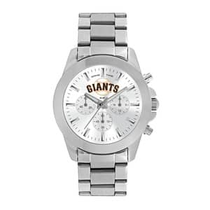 San Francisco Giants Ladies Quartz Analog Silver Knockout Watch
