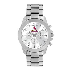 St. Louis Cardinals Ladies Quartz Analog Silver Knockout Watch