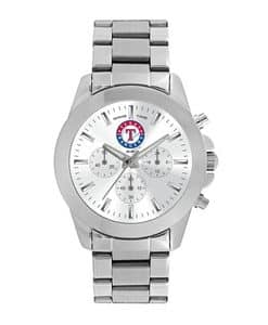 Texas Rangers Ladies Quartz Analog Silver Knockout Watch
