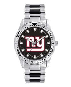 New York Giants Mens Quartz Analog Starter Watch