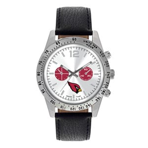 Arizona Cardinals Mens Quartz Analog Letterman Watch