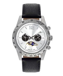 Baltimore Ravens Mens Quartz Analog Letterman Watch