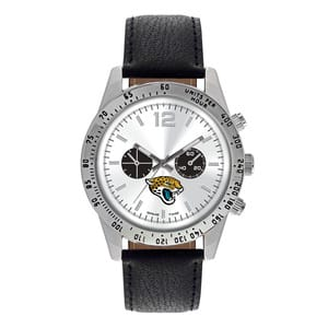 Jacksonville Jaguars Mens Quartz Analog Letterman Watch