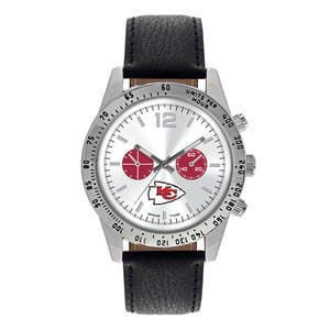Kansas City Chiefs Mens Quartz Analog Letterman Watch