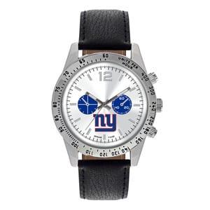New York Giants Mens Quartz Analog Letterman Watch