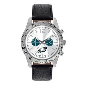 Philadelphia Eagles Mens Quartz Analog Letterman Watch