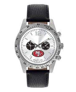 San Francisco 49Ers Mens Quartz Analog Letterman Watch