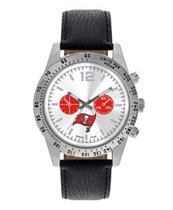 Tampa Bay Bucaneers Mens Quartz Analog Letterman Watch