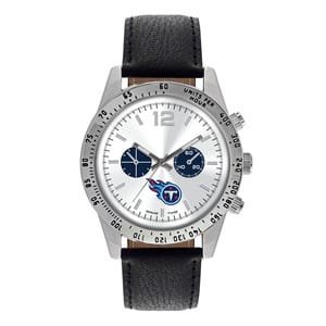 Tennessee Titans Mens Quartz Analog Letterman Watch