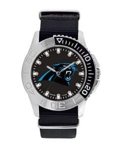 Carolina Panthers Mens Quartz Analog Starter Watch