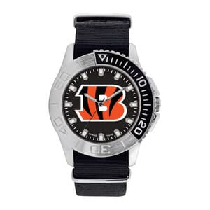 Cincinnati Bengals Mens Quartz Analog Starter Watch