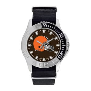 Cleveland Browns Mens Quartz Analog Starter Watch