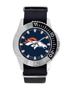Denver Broncos Mens Quartz Analog Starter Watch