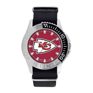 Kansas City Chiefs Mens Quartz Analog Starter Watch